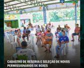 CADASTRO DE RESERVA E SELEÇÃO DE NOVOS PERMISSIONÁRIOS DE BOXES