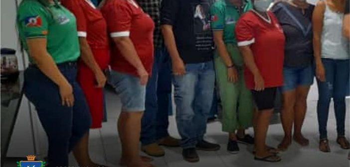 CAPACITAÇÃO DE MERENDEIRAS FOI REALIZADA PARA A VOLTA ÀS AULAS EM SANTO ANTÔNIO DO MATUPI.
